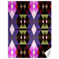 Geometric Abstract Background Art Canvas 36  X 48   by Nexatart