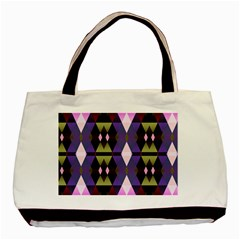 Geometric Abstract Background Art Basic Tote Bag (two Sides) by Nexatart
