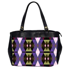 Geometric Abstract Background Art Office Handbags (2 Sides)  by Nexatart