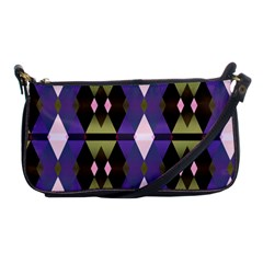 Geometric Abstract Background Art Shoulder Clutch Bags by Nexatart
