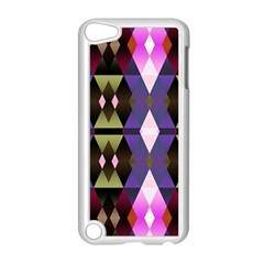 Geometric Abstract Background Art Apple Ipod Touch 5 Case (white) by Nexatart