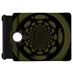 Dark Portal Fractal Esque Background Kindle Fire Hd 7  by Nexatart