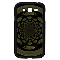 Dark Portal Fractal Esque Background Samsung Galaxy Grand Duos I9082 Case (black) by Nexatart