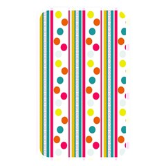 Stripes And Polka Dots Colorful Pattern Wallpaper Background Memory Card Reader by Nexatart
