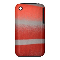Orange Stripes Colorful Background Textile Cotton Cloth Pattern Stripes Colorful Orange Neo Iphone 3s/3gs by Nexatart
