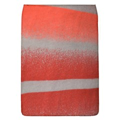 Orange Stripes Colorful Background Textile Cotton Cloth Pattern Stripes Colorful Orange Neo Flap Covers (l)  by Nexatart