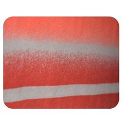 Orange Stripes Colorful Background Textile Cotton Cloth Pattern Stripes Colorful Orange Neo Double Sided Flano Blanket (medium)  by Nexatart