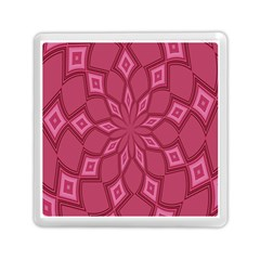Fusia Abstract Background Element Diamonds Memory Card Reader (square)  by Nexatart