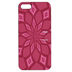 Fusia Abstract Background Element Diamonds Apple Iphone 5 Hardshell Case With Stand by Nexatart