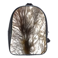 Tree Art Artistic Tree Abstract Background School Bags(large)  by Nexatart