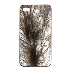 Tree Art Artistic Tree Abstract Background Apple Iphone 4/4s Seamless Case (black) by Nexatart