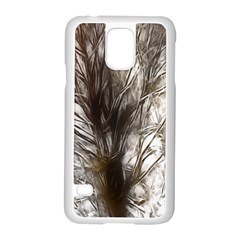Tree Art Artistic Tree Abstract Background Samsung Galaxy S5 Case (white) by Nexatart