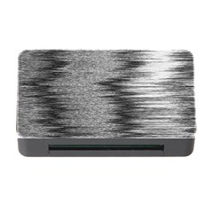 Rectangle Abstract Background Black And White In Rectangle Shape Memory Card Reader With Cf by Nexatart