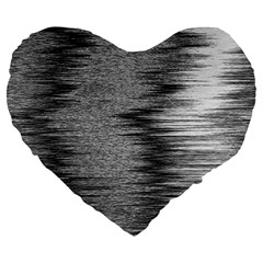 Rectangle Abstract Background Black And White In Rectangle Shape Large 19  Premium Heart Shape Cushions by Nexatart