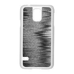 Rectangle Abstract Background Black And White In Rectangle Shape Samsung Galaxy S5 Case (white) by Nexatart