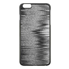 Rectangle Abstract Background Black And White In Rectangle Shape Apple Iphone 6 Plus/6s Plus Black Enamel Case by Nexatart