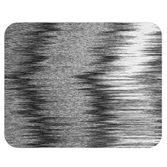 Rectangle Abstract Background Black And White In Rectangle Shape Double Sided Flano Blanket (medium)  by Nexatart