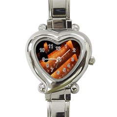 Magic Steps Stair With Light In The Dark Heart Italian Charm Watch by Nexatart