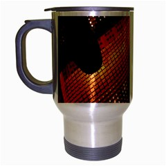 Magic Steps Stair With Light In The Dark Travel Mug (silver Gray) by Nexatart