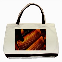 Magic Steps Stair With Light In The Dark Basic Tote Bag by Nexatart