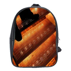 Magic Steps Stair With Light In The Dark School Bags (xl)  by Nexatart