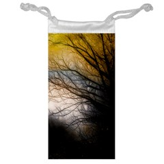 Tree Art Artistic Abstract Background Jewelry Bag by Nexatart