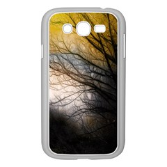 Tree Art Artistic Abstract Background Samsung Galaxy Grand Duos I9082 Case (white) by Nexatart