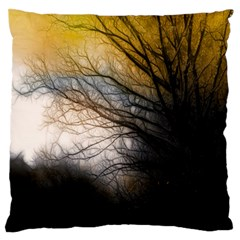 Tree Art Artistic Abstract Background Standard Flano Cushion Case (one Side) by Nexatart
