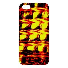 Yellow Seamless Abstract Brick Background Iphone 5s/ Se Premium Hardshell Case by Nexatart