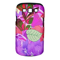 Abstract Design With Hummingbirds Samsung Galaxy S Iii Classic Hardshell Case (pc+silicone) by Nexatart