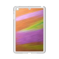 Metallic Brush Strokes Paint Abstract Texture iPad Mini 2 Enamel Coated Cases by Nexatart