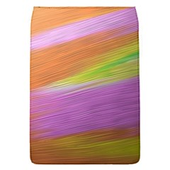 Metallic Brush Strokes Paint Abstract Texture Flap Covers (s)  by Nexatart