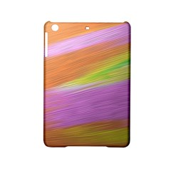 Metallic Brush Strokes Paint Abstract Texture Ipad Mini 2 Hardshell Cases by Nexatart