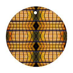 Light Steps Abstract Ornament (round) by Nexatart