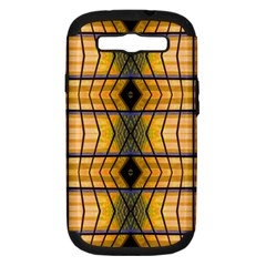 Light Steps Abstract Samsung Galaxy S Iii Hardshell Case (pc+silicone) by Nexatart