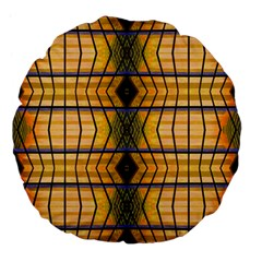 Light Steps Abstract Large 18  Premium Flano Round Cushions by Nexatart