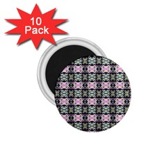 Colorful Pixelation Repeat Pattern 1 75  Magnets (10 Pack)  by Nexatart