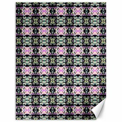 Colorful Pixelation Repeat Pattern Canvas 12  X 16   by Nexatart