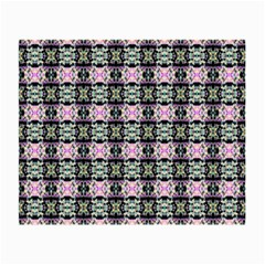 Colorful Pixelation Repeat Pattern Small Glasses Cloth (2 Side) by Nexatart