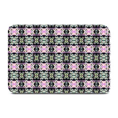 Colorful Pixelation Repeat Pattern Plate Mats by Nexatart