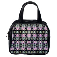 Colorful Pixelation Repeat Pattern Classic Handbags (one Side) by Nexatart