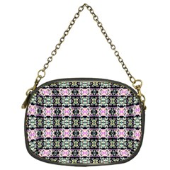 Colorful Pixelation Repeat Pattern Chain Purses (one Side)  by Nexatart