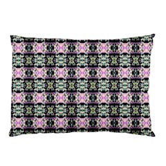 Colorful Pixelation Repeat Pattern Pillow Case by Nexatart