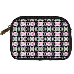 Colorful Pixelation Repeat Pattern Digital Camera Cases by Nexatart