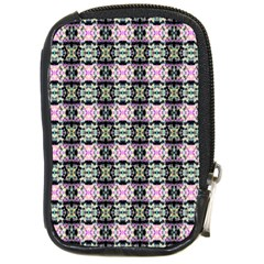 Colorful Pixelation Repeat Pattern Compact Camera Cases by Nexatart
