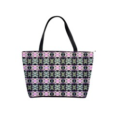 Colorful Pixelation Repeat Pattern Shoulder Handbags by Nexatart