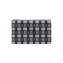 Colorful Pixelation Repeat Pattern Cosmetic Bag (small)  by Nexatart