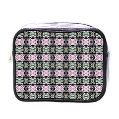Colorful Pixelation Repeat Pattern Mini Toiletries Bags by Nexatart