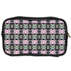 Colorful Pixelation Repeat Pattern Toiletries Bags by Nexatart