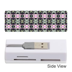 Colorful Pixelation Repeat Pattern Memory Card Reader (stick)  by Nexatart